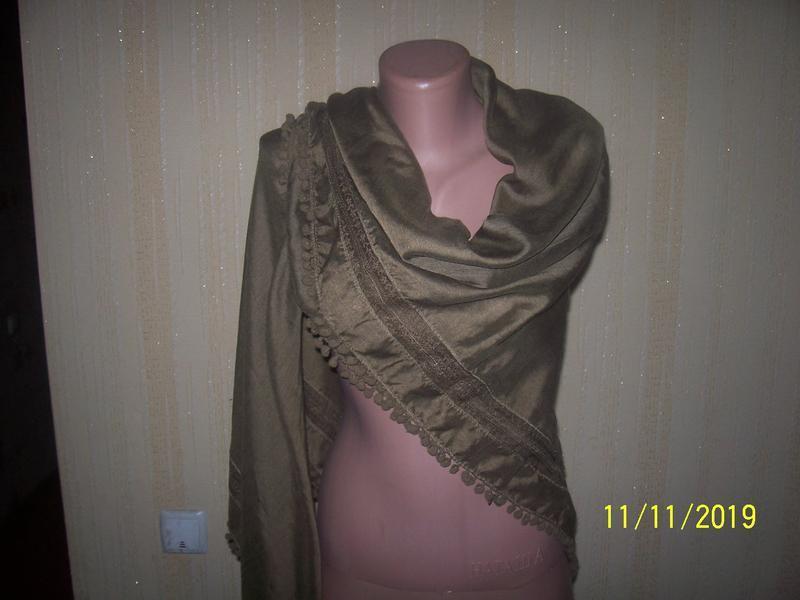 Шикарный большой платок h&m/индия