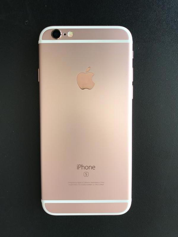 Iphone 6s Rose Gold 32GB + защитное стекло