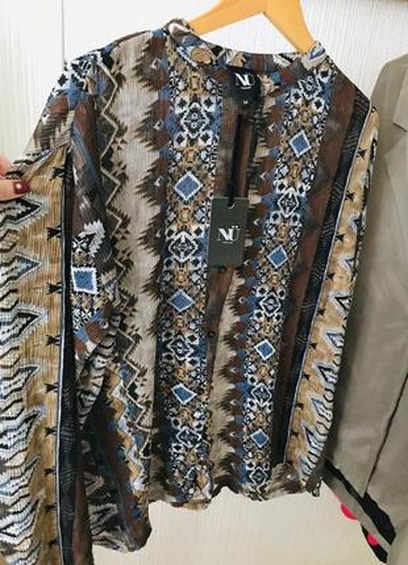 🔥🔥🔥новая, стильная блузка, рубашка, кофта на пуговицах nu denm...