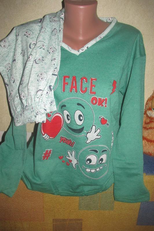 Пижама женская хлопок на байке