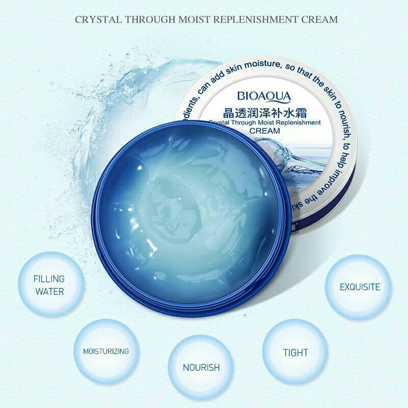 Многофункциональный антивозрастной крем гель для лица bioaqua ...