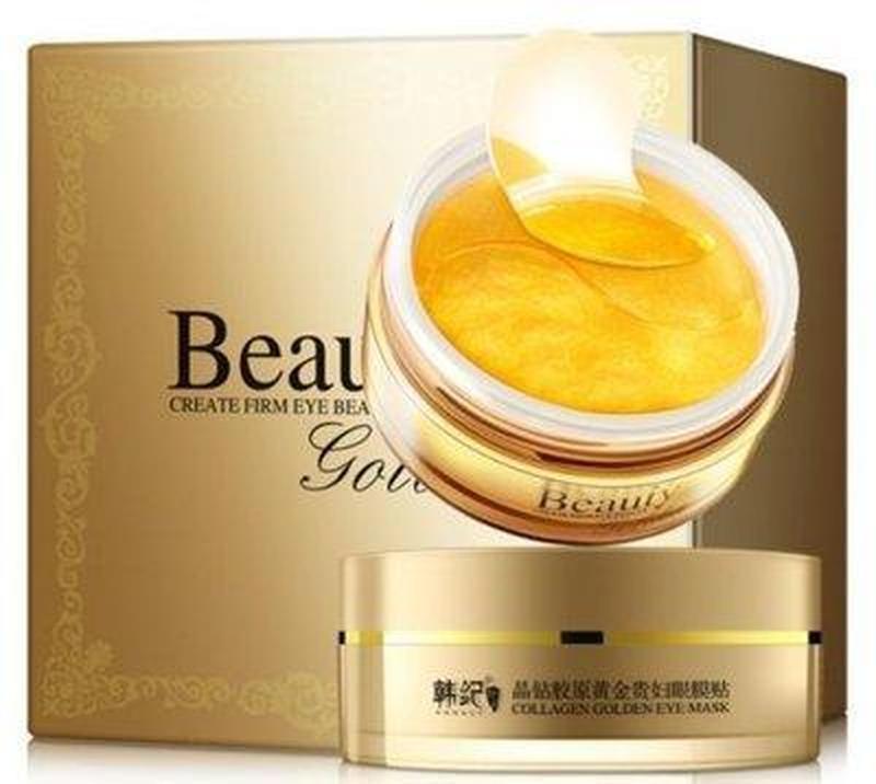 Гидрогелевые патчи для век beauty golden с золотом и витаминны...