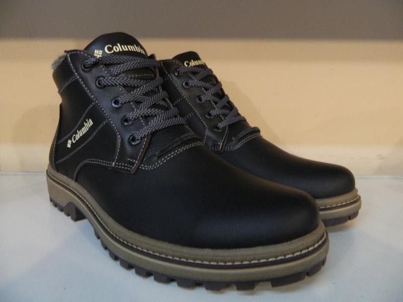 Ботинки мужские кожаные зимние - Фото 5