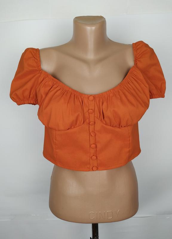 Блуза топ новый стильный uk 12/40/m