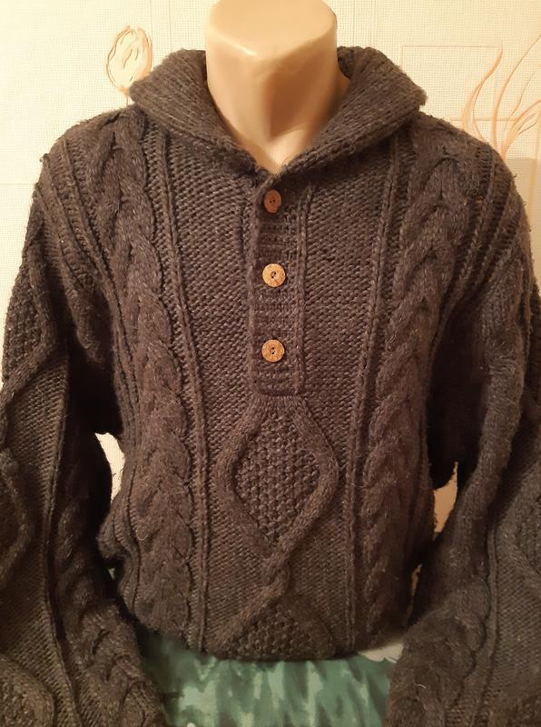 Тёплый вязаный свитер denim &supply ralph lauren, 10 % альпака