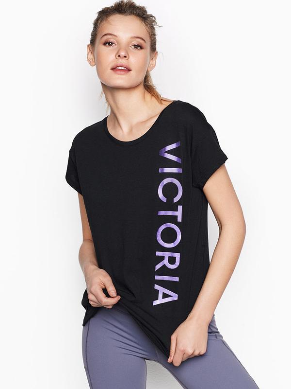 Мягкая футболка victoria's secret оригинал