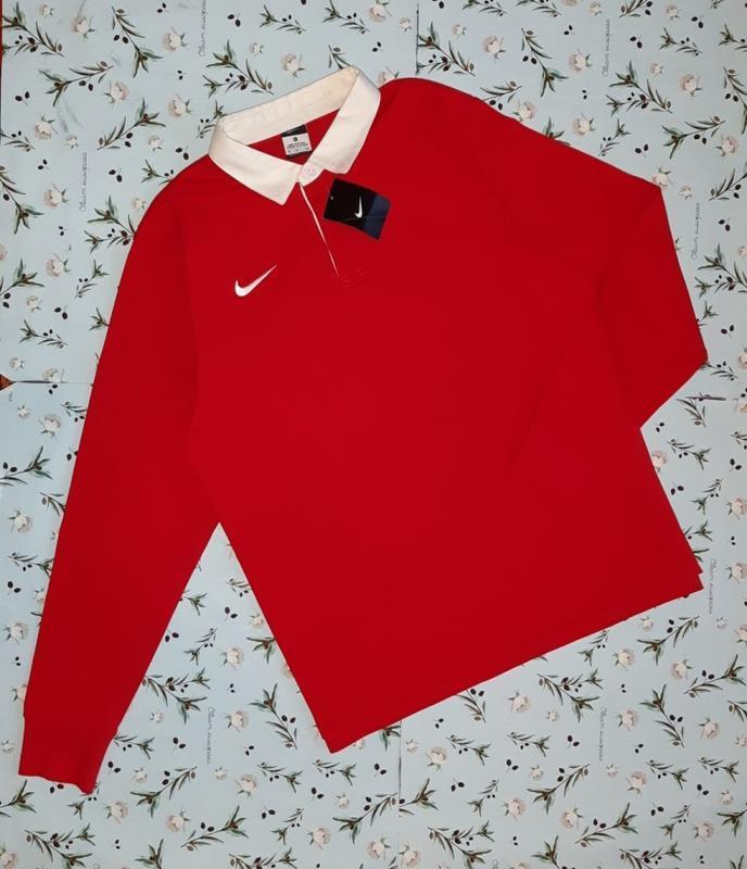 Крутой новый красный свитер лонгслив nike оригинал, размер 50 ...
