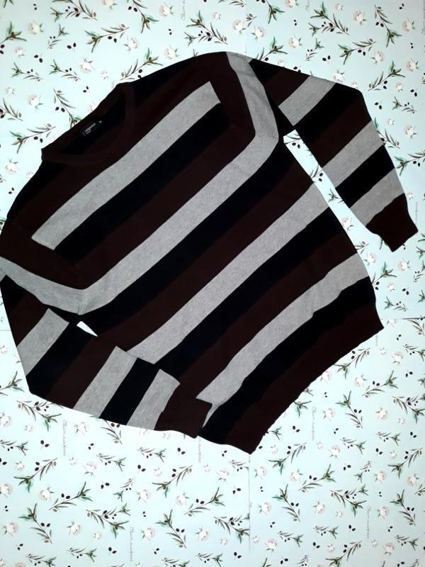 Фирменный мужской свитер в полоску cedarwood state, размер 50 ...