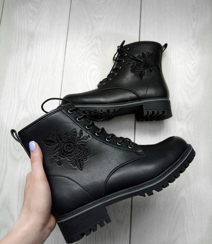 Черные ботинки anna field🖤🔥похожи на dr.martens 🌹