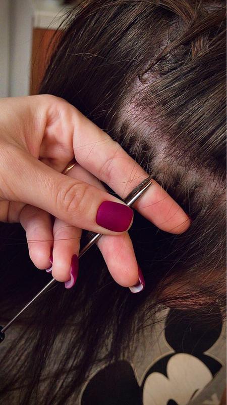 Наращивание волос по итальянской технологии