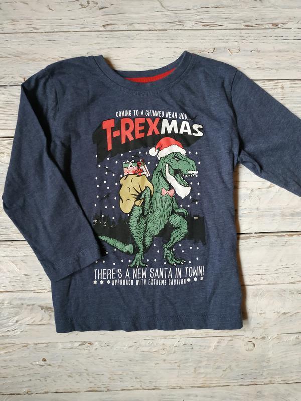Новорічна кофта з динозавром