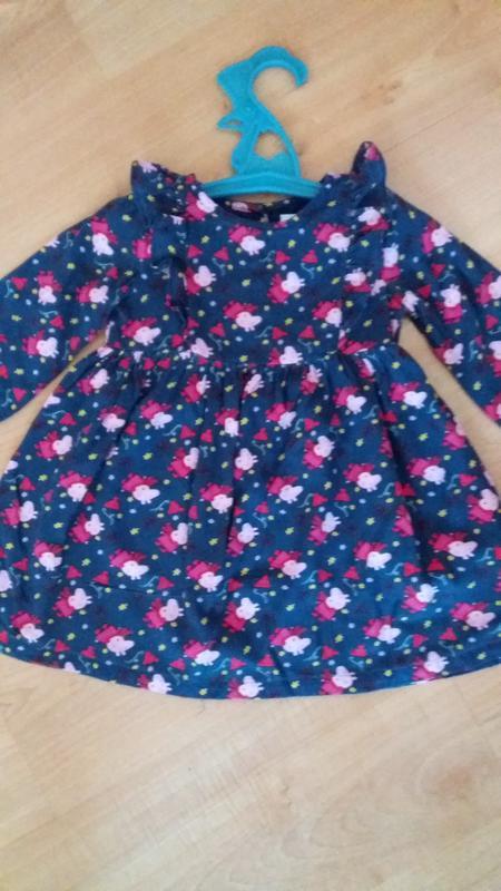Платье m#s со свинкой пеппой на 2 годика