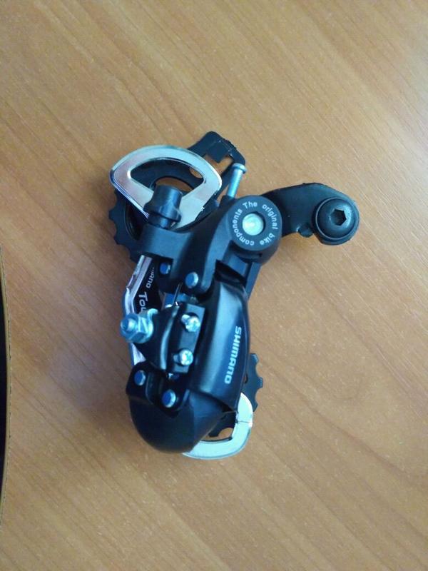 Перекидка задняя shimano tx35