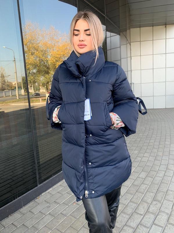 Зимняя куртка пуховик на утеплителе
