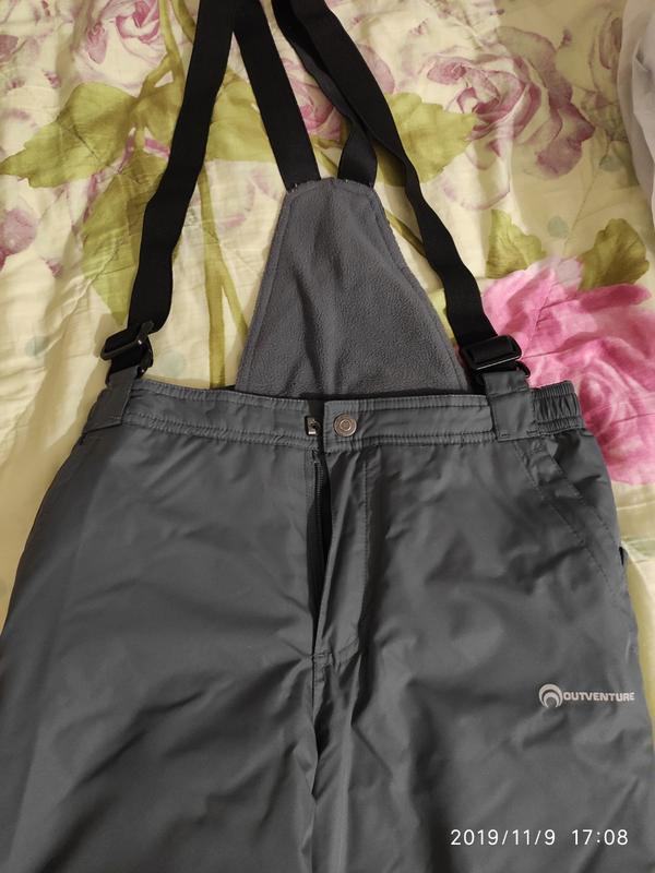 Зимние непромокаемые штаны-комбез