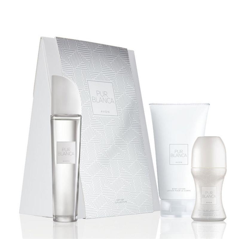 Подарочный парфюмерный набор Pur blanca