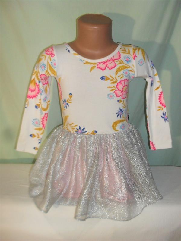 Платье с рукавом на 4годика