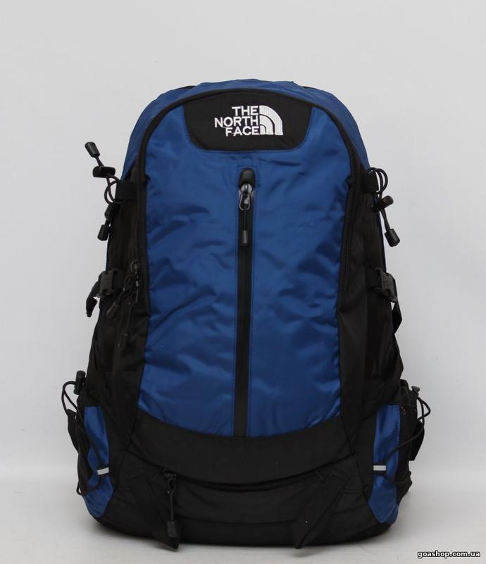 Рюкзак the north face туристический 40 л. цвет темно синий. ра...