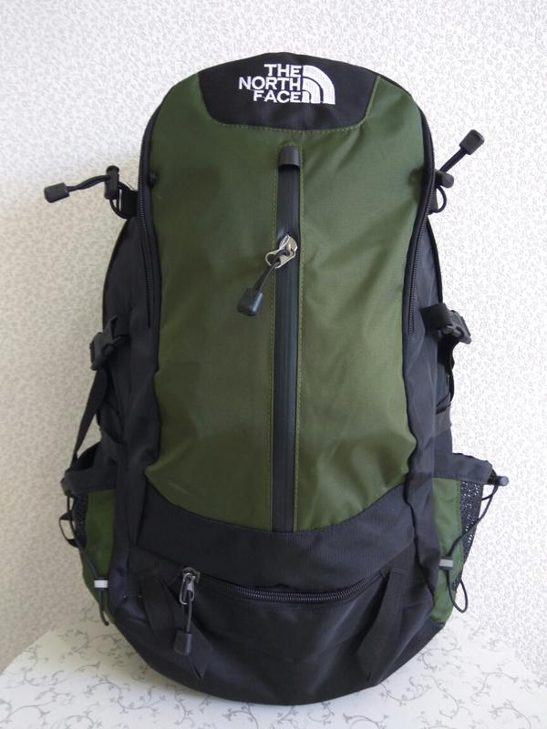 Рюкзак the north face туристический экспедиционный, цвет haki ...
