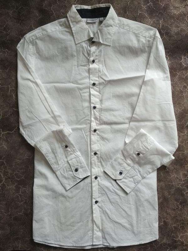 Мужская рубашка livergy, германия. косм.нюанс
