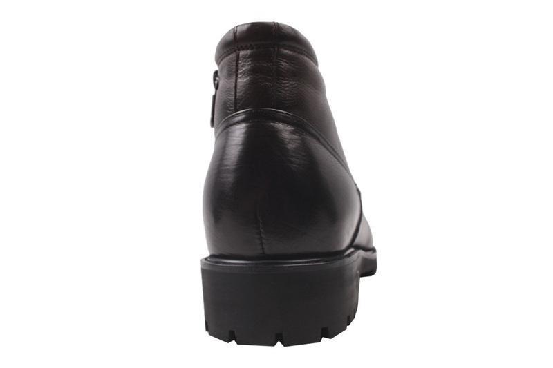 Ботинки зимние на цигейке cosottinni  натуральная кожа, зима 2020 - Фото 2