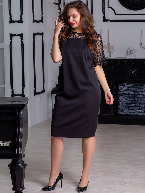 Сукня жіноча нарядна. платье женское с кружевом