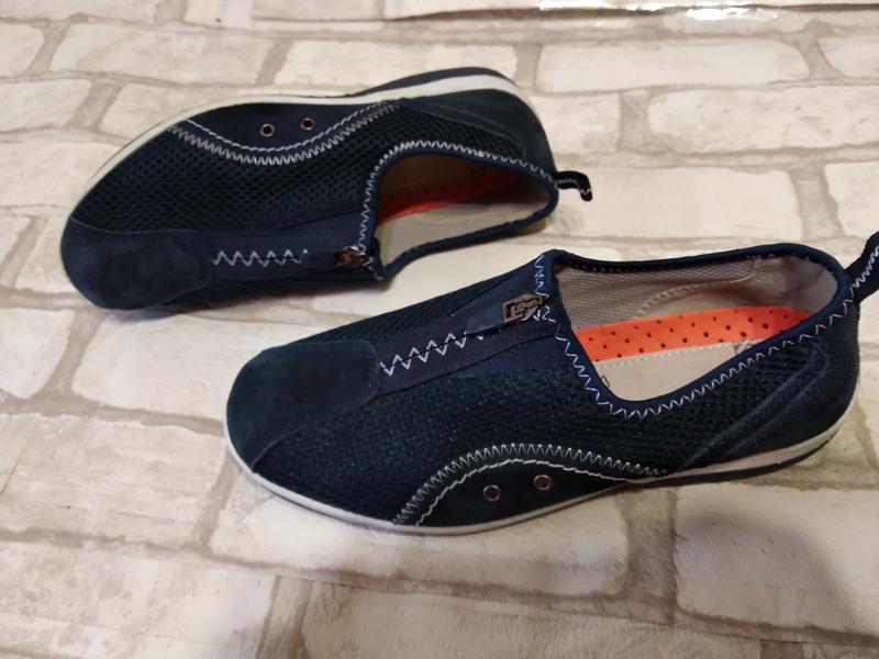 Туфли макасины avenue 24,5см до загиба