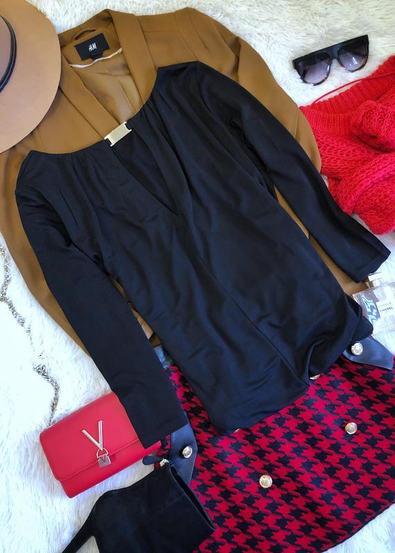 Новая черная кофта от h&m размер м-л