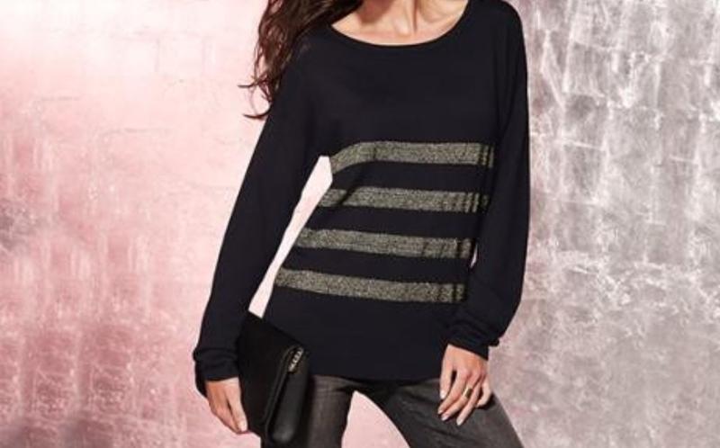 Красивый женский свитер на шикарные формы, супербатал