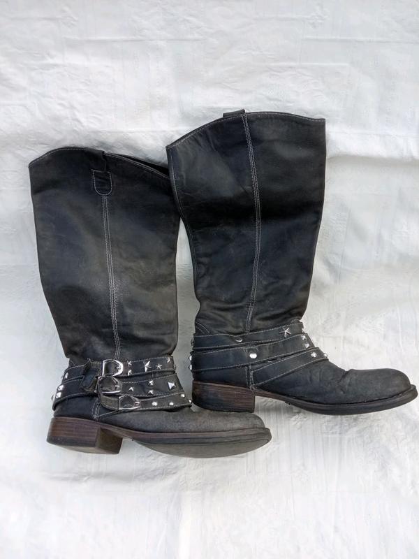 Байкерская обувь