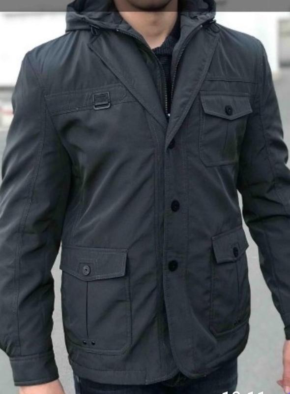 Мужская куртка отличного качества! демисезонная, см.описание
