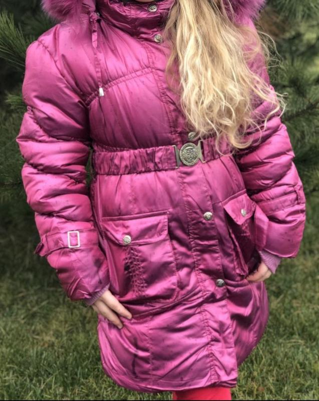 Теплая зимняя куртка,пальто, пуховик для девочки,зима, см. опи...