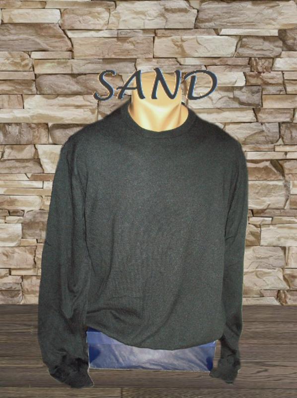 💨💨sand 100% мерино стильный теплый мужской свитер т графит xxl💨❄💨