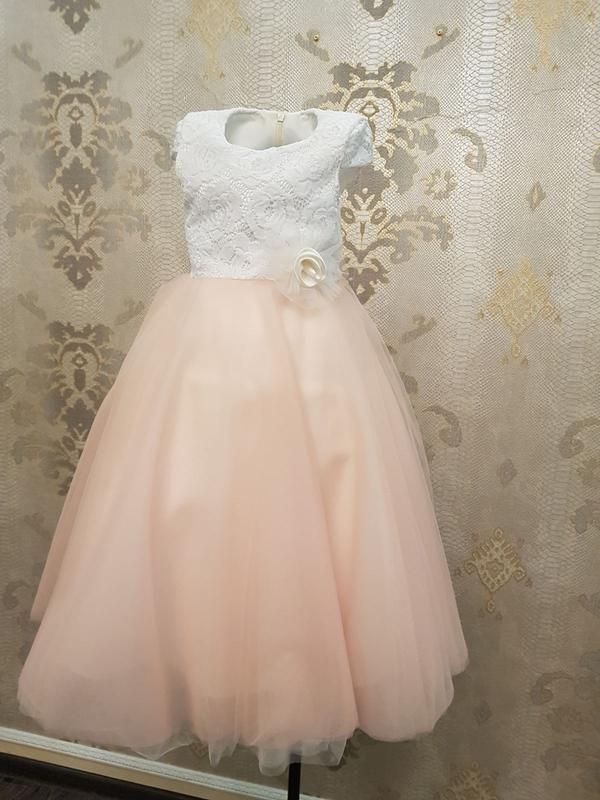 Сказочно красивое нарядное платье для принцесс!