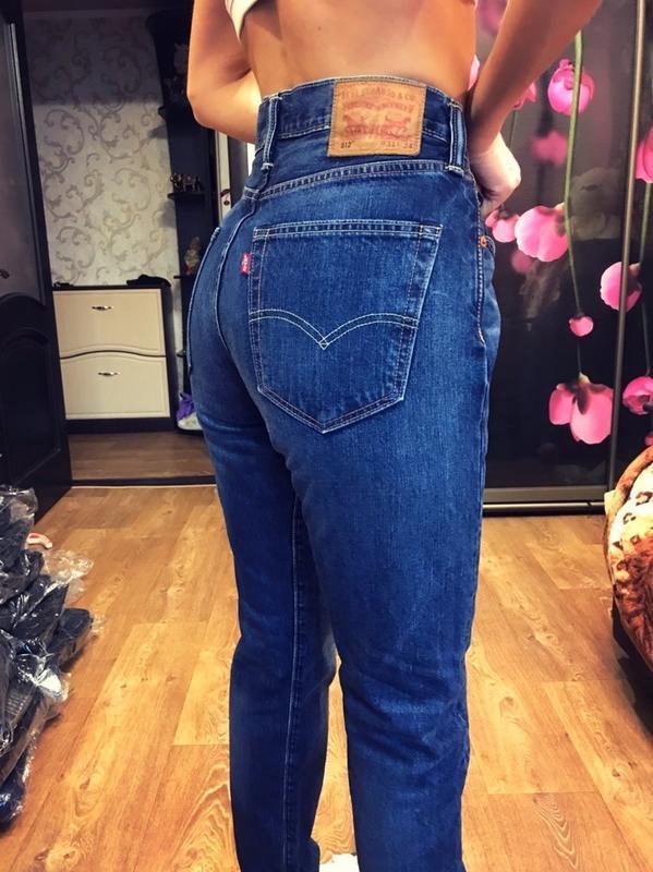 Легендарные брендовые джинсы с высокой посадкой мом.бойфренды