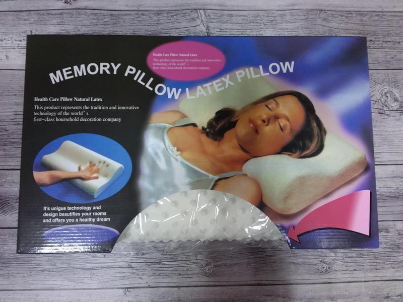 Подушка «memory pillow», подушка с памятью.