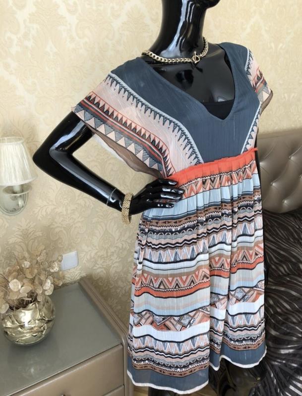 Платье/сарафан в узор promod, размер м