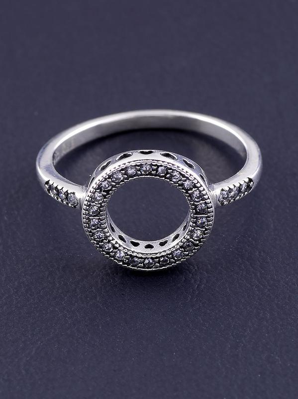 Кольцо 'pandora style' фианит серебро(925)