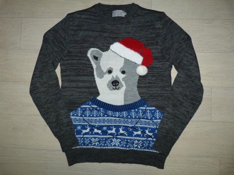 Новогодний свитер с иллюминацией tu размер s