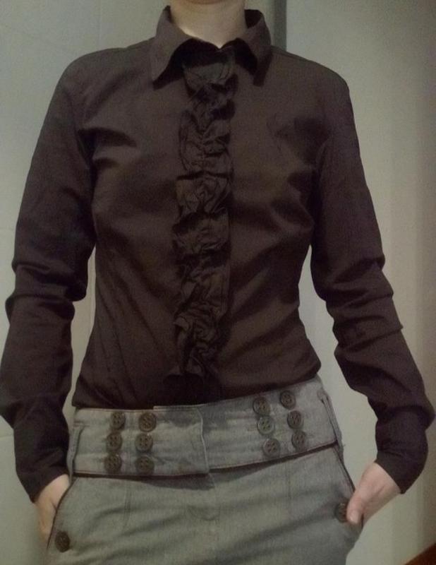Стильная рубашка боди