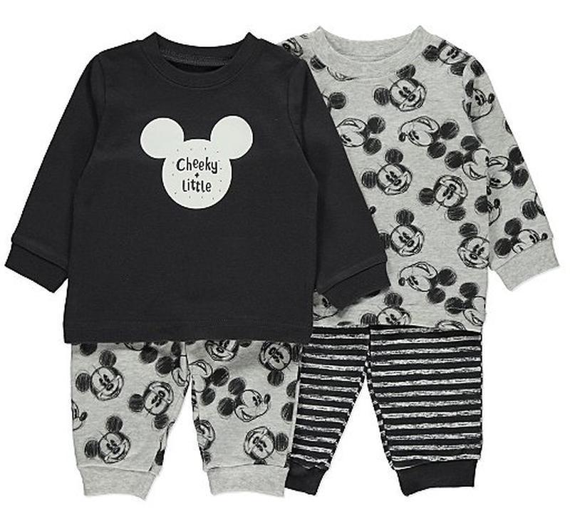 George набор пижам с микки маусом на мальчика на 18-24 месяца