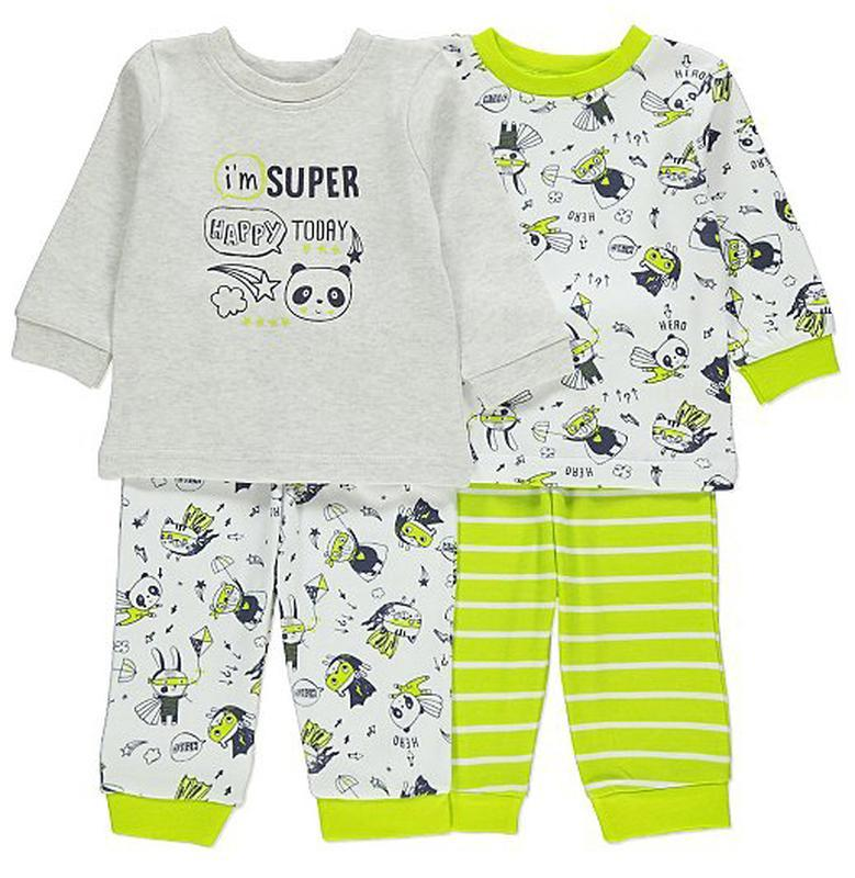 George набор детских пижамок на 1-1,5 года