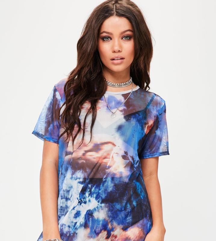Крутая стильная камуфляжная футболка-сетка оверсайз