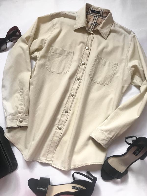 Рубашка burberry р.12 оригинал