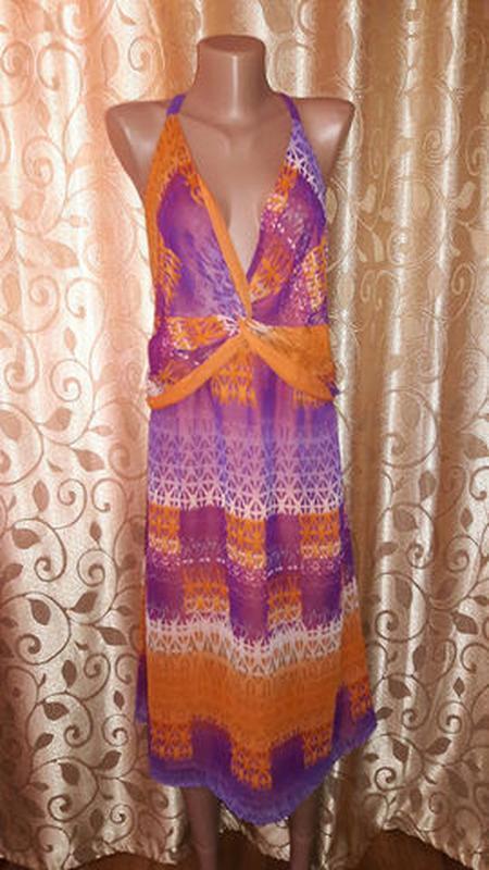🌺👗🌺красивое легкое женское платье, сарафан батального размера ...