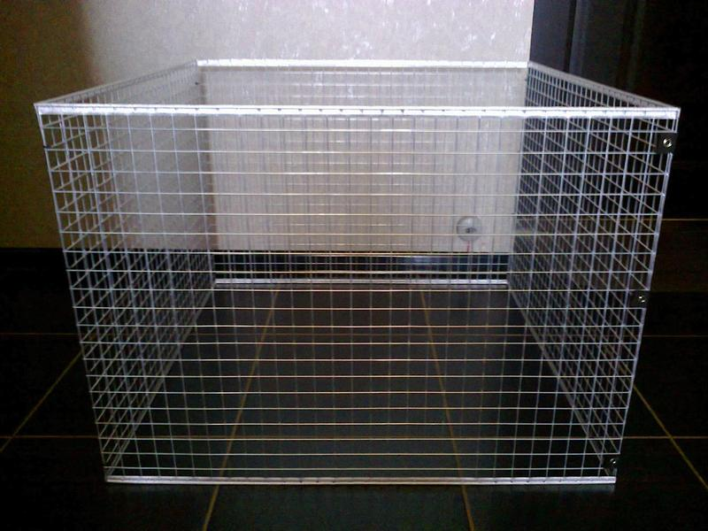 Вольер манеж клетка для небольших собак щенков кроликов котят и п - Фото 4