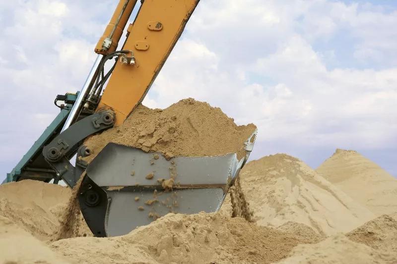 Песок речной, песок карьерный горный