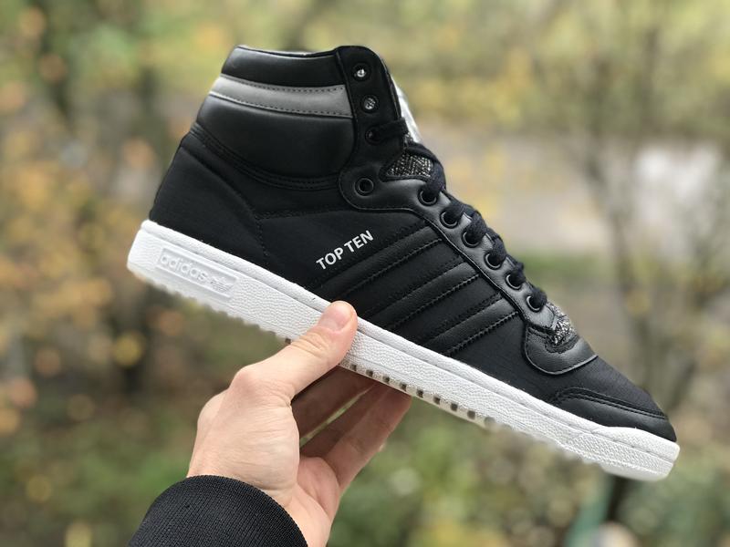 Adidas top ten високі шкіряні кросівки оригінал