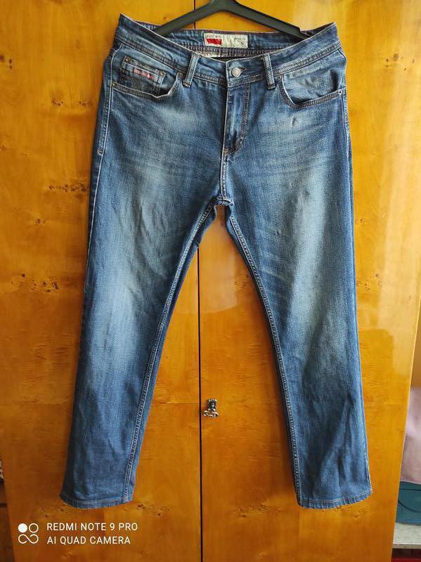 Штаны мужские джинсы 44