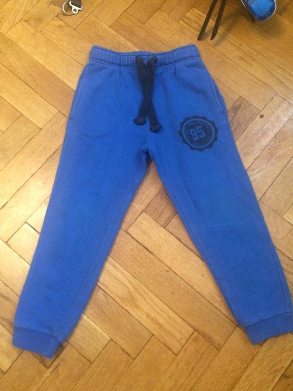 Джогеры,спортивные штаны с начесом,хлопок,lupilu